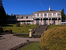image of the front of one of the macdonald lake district hotels, the leeming house hotel at ullswater