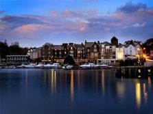 image of the macdonald old england hotel beside lake windermere, one of the best lake district hotels
