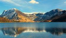an image of buttermere, the twelth largest of the lakes in the Lake District