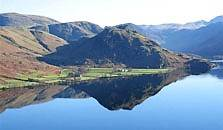 an image of crummock water, the tenth largest of the lakes in the Lake District