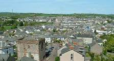 image looking over the rooftops of dalton-in-furness linking to the dalton in furness information page