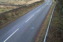 image of the A684 at garsdale head webcam