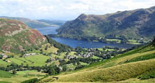 image of glenridding and ullswater serving as an image lnk to the information page for glenridding village in the lake district