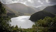 an image of haweswater lake in the lake district