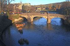 image of the river kent in kendal webcam
