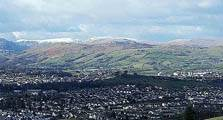 aerial image of kendal linking to the information page for kendal town