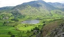 an image of little langdale tarn
