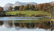 an image of loughrigg tarn