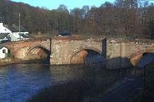 image of the river derwent at eamont bridge penrith webcam