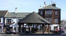 image of the market site at penrith linking to the penrith town information page