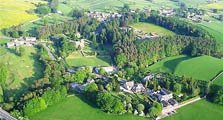 aerial image of ravenstonedale as an image link to the village information page