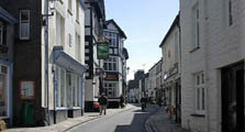 image of houses in sedbergh serving as a link to the sedbergh village information page