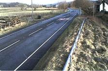 image of the A593 at Torver in the lake district webcam