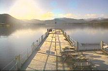 image of Ullswater webcam at Steamers Pier in the Lake District