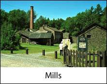 image of a mill which is an image link to the mills in the lake district and cumbria page
