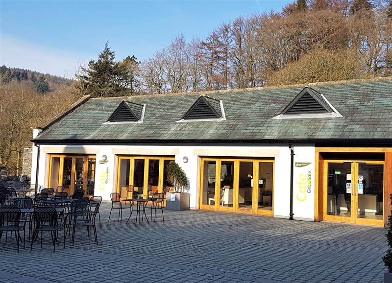 image of grizedale visitor centre cafe