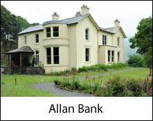 an image of the outside of allan bank at grasmere where william wordsworth lived