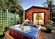 image of Avon Wood Windermere lodges with hot tubs in the Lake District