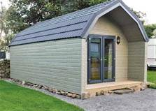 an image of a holiday lodge at bainbridge ings holiday park at hawes in the yorkshire dales