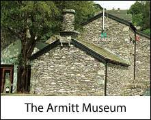 an image of the exterior of the armitt museum in the lake district england