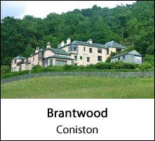image of brantwood, home of john ruskin, a historic house to visit in the lake district page