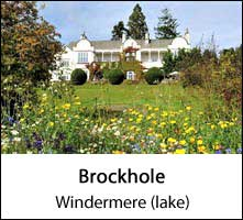 image of brockhole visitor centre at windermere lake