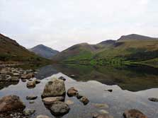 image of wastwater near the glamping lodges in the lake district