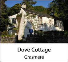 image of dove cottage in the lake district page