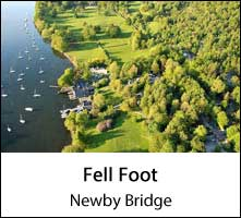 image of an aerial view of fell foot park at windermere lake in the lake district page
