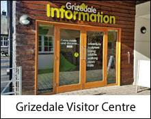 image of grizedale visitor centre near hawkshead in the lake district. This is an image link to the information page