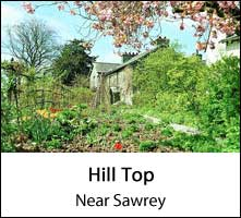 image of hill top at near sawry in the lake district page