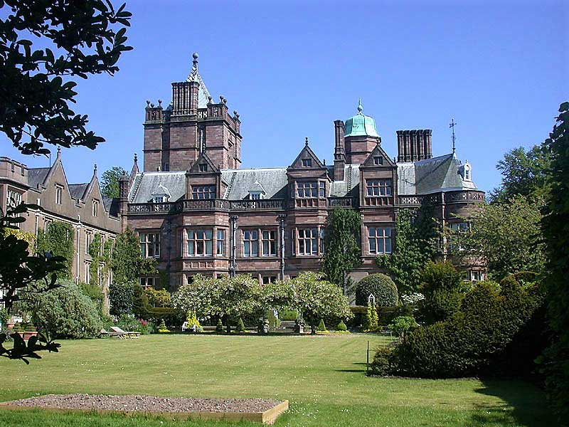image of Holker hall near Cartmel in the Lake District