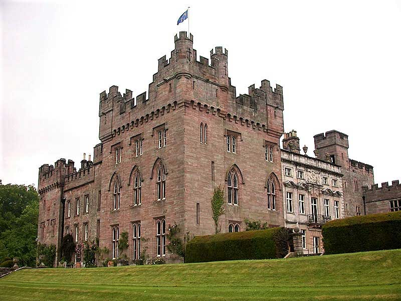 image of the exterior of hutton-in-the-forest country house in cumbria