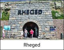 image of the entrance to rheged, a visitor centre near penrith in cumbria