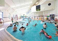 an image of the indoor leisure pool at stanwix park holiday park in cumbria