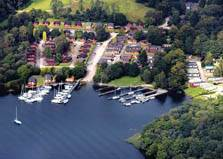 image of White Cross Bay lodges near Windermere in the Lake District