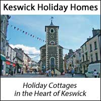 image of keswick town centre for Keswick Holiday Homes