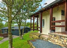 an image of a self catering lodge at kirkby lonsdale lake district holiday park