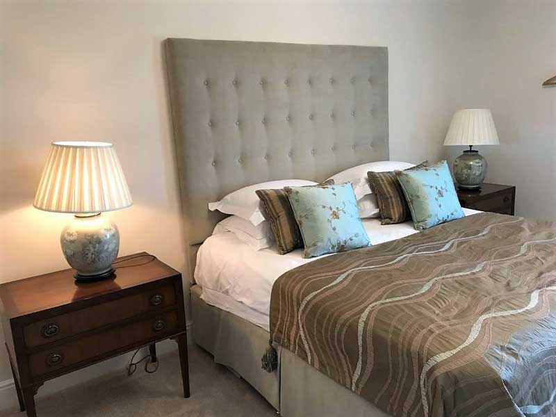 image of the double bedroom at the Brampton B&B,  Abbey Farm Guest House at Lanercost in Cumbria