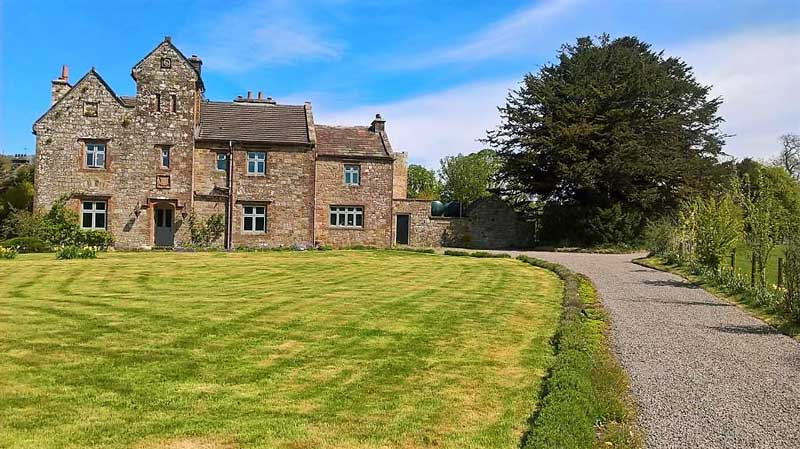 image of abbey farm guest house brampton b&b at lanercost in cumbria