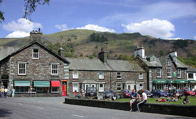 image of grasmere village centre