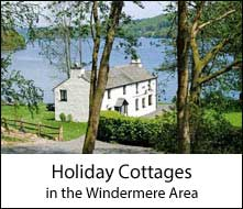 image of a holiday cottage beside the lake, a self catering windermere accommodation in the lake district
