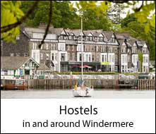 image of ambleside hostel accommodation in windermere in the lake district