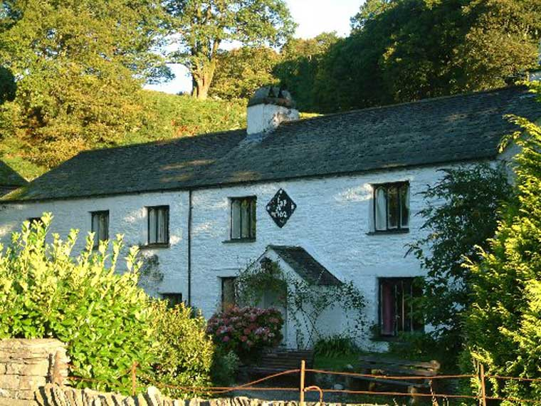 image of nab cottage at rydal village