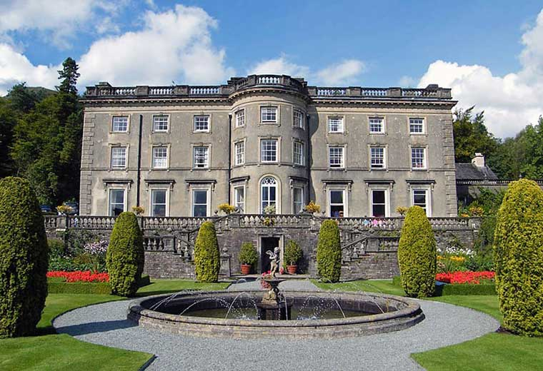 image of Rydal Hall in the Lake District