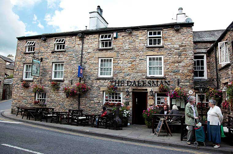image of the Dalesman public house, Sedbergh