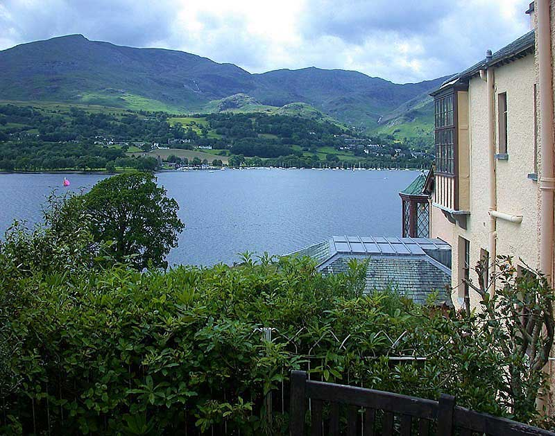 image of the View from Brantwood over Coniston Water to Coniston Village