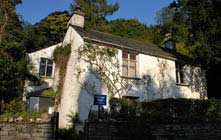 image of a Dove Cottage in Grasmere the Lake District