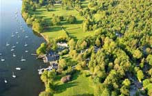image of Fell Foot Park at Windermere lake in the lake district