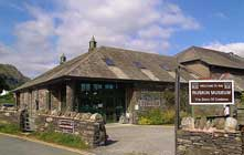 image of the Ruskin Museum in Coniston Village in the lake district